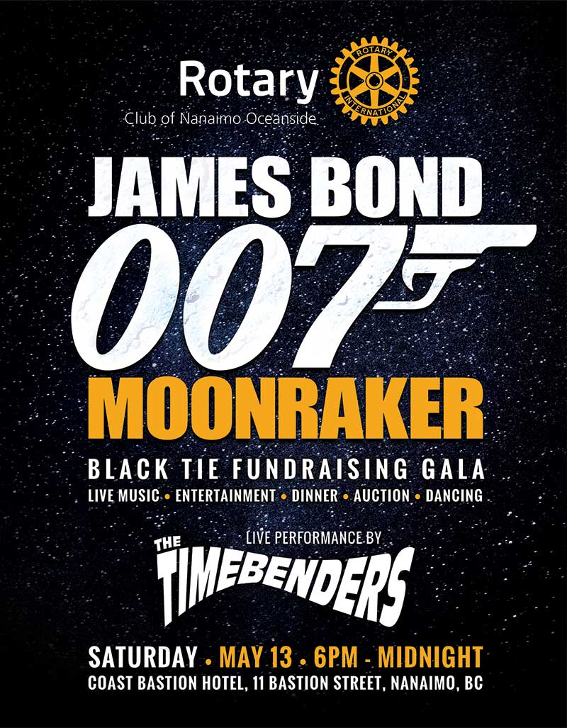 James Bond Gala 2017 in Nanaimo